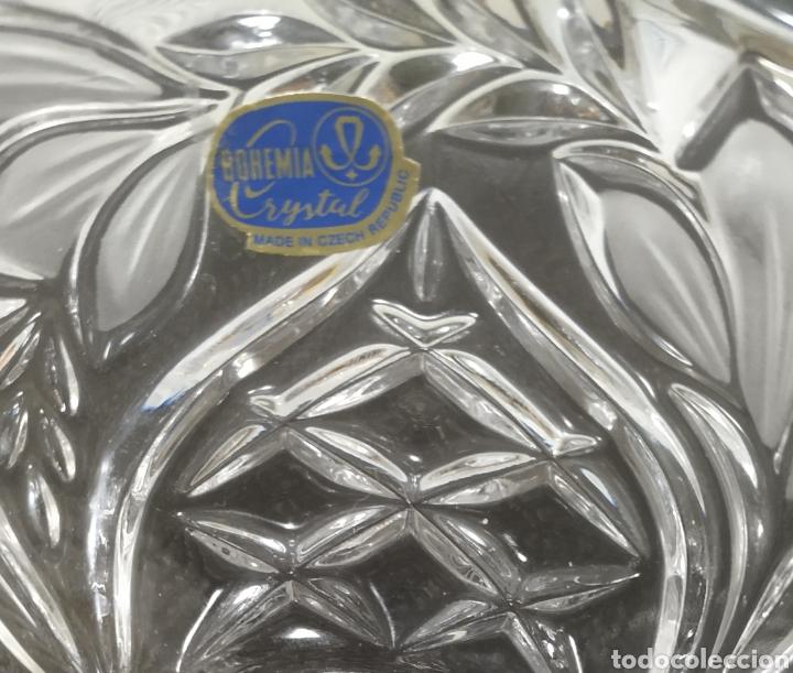 Antigüedades: Centro de mesa cristal de bohemia - Foto 2 - 228776615