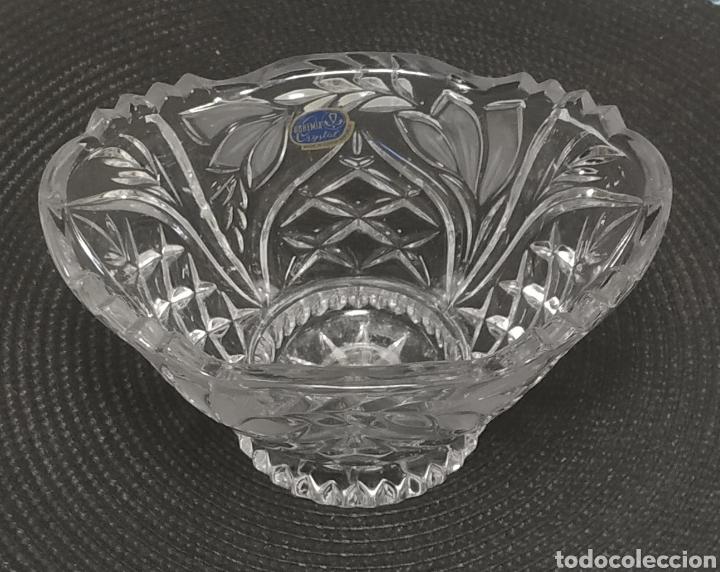 Antigüedades: Centro de mesa cristal de bohemia - Foto 3 - 228776615