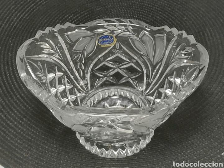 Antigüedades: Centro de mesa cristal de bohemia - Foto 4 - 228776615