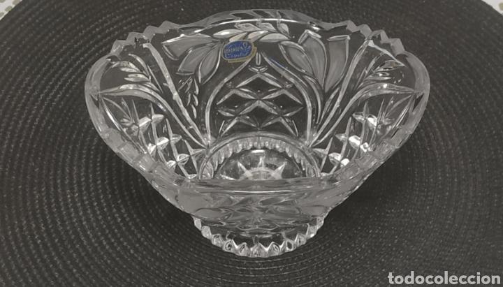 Antigüedades: Centro de mesa cristal de bohemia - Foto 5 - 228776615
