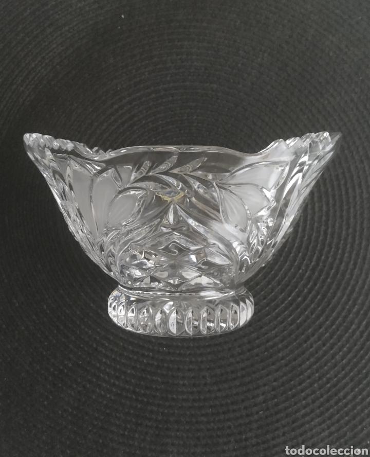 CENTRO DE MESA CRISTAL DE BOHEMIA (Antigüedades - Cristal y Vidrio - Bohemia)