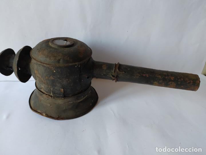 Antigüedades: ANTIGUO FAROL DE CARRUAJE. - Foto 2 - 228788905
