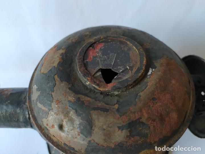 Antigüedades: ANTIGUO FAROL DE CARRUAJE. - Foto 5 - 228788905