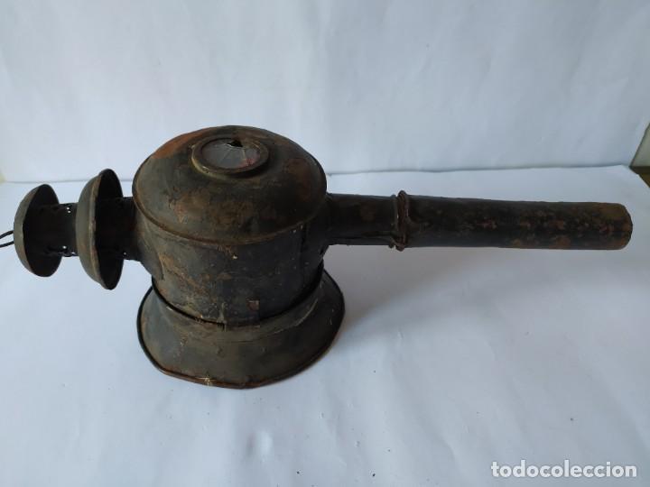 Antigüedades: ANTIGUO FAROL DE CARRUAJE. - Foto 13 - 228788905