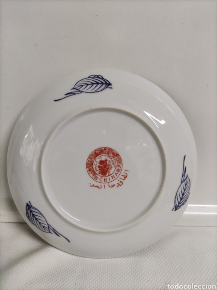 Antigüedades: Plato porcelana Chino - Foto 2 - 228817575