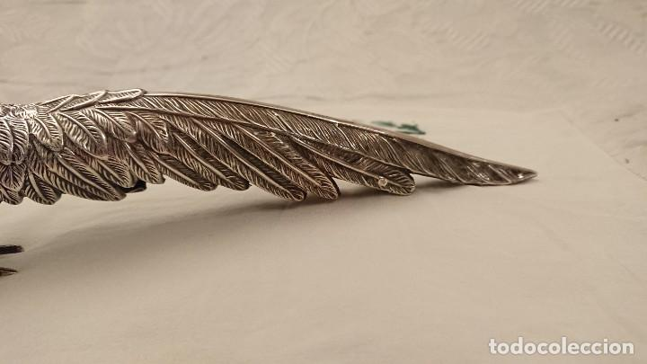 Antigüedades: PAVO REAL. SIN PUNZONES APARENTES. ESPAÑA. SOBRE 1950 - Foto 2 - 228856875