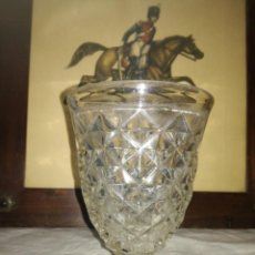 Antiquités: ANTIGUA COPA CRISTAL SANTA LUCÍA CARTAGENA. Lote 228872280