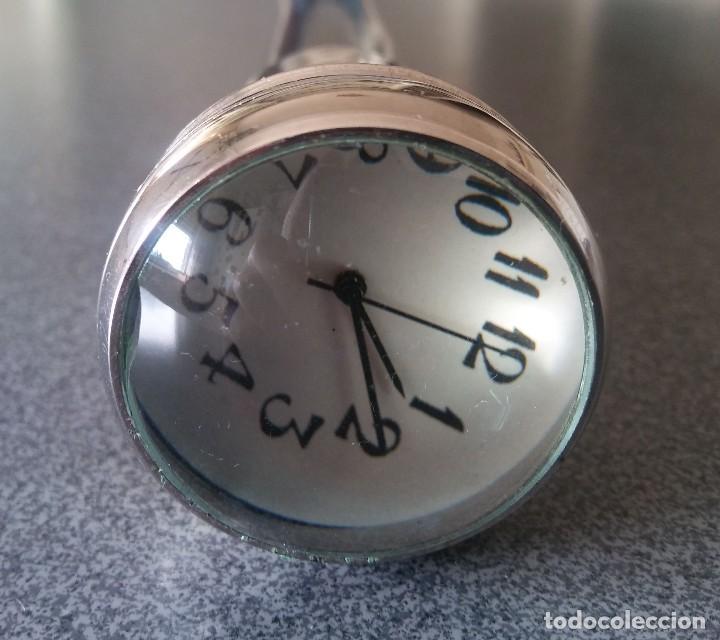 Antigüedades: Bastón empuñadura reloj - Foto 7 - 228931243
