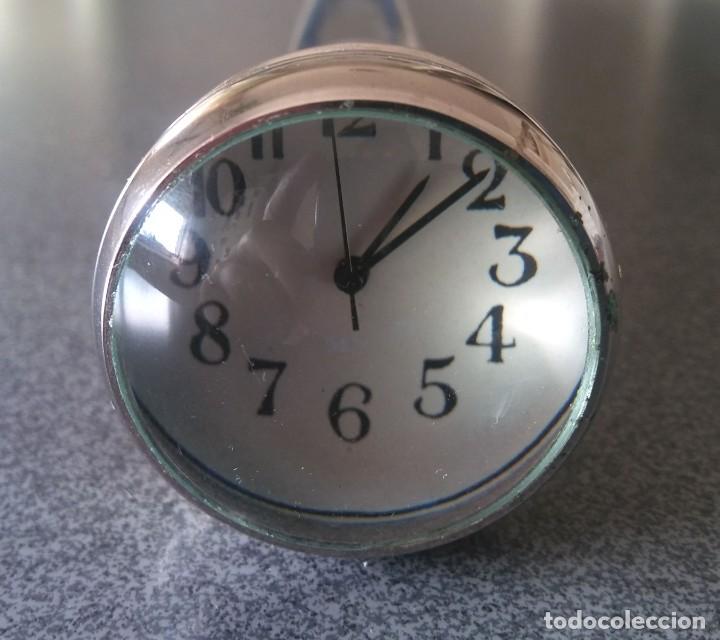 Antigüedades: Bastón empuñadura reloj - Foto 8 - 228931243