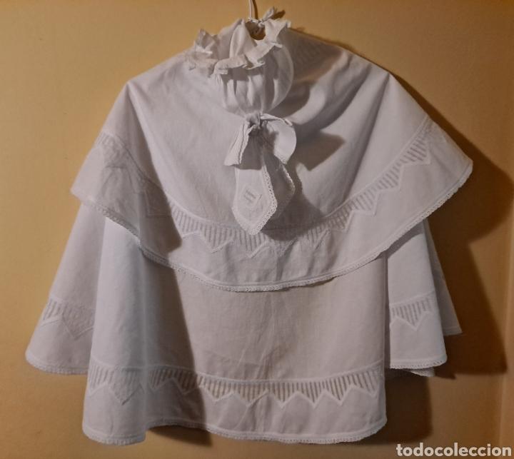 CAPA DE BAUTIZO (Antigüedades - Moda y Complementos - Infantil)