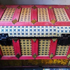 Antigüedades: ARCÓN/BAÚL ANTIGUO.. Lote 229056205