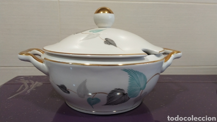 Antigüedades: Vajilla servicio Royal China Vigo - Foto 2 - 229082835