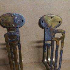 Antigüedades: GRANDES ALZAPAÑOS RECOGEDORES DE CORTINAS ART DECO. Lote 229104440