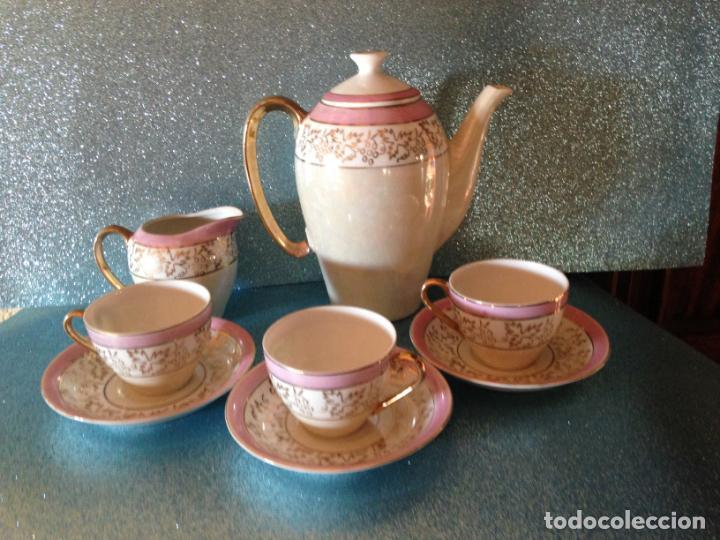Antigüedades: JUEGO DE CAFE TU Y YO CON SERVICIO DE REPUESTO PORCELANA JAPONESA - Foto 5 - 229121865