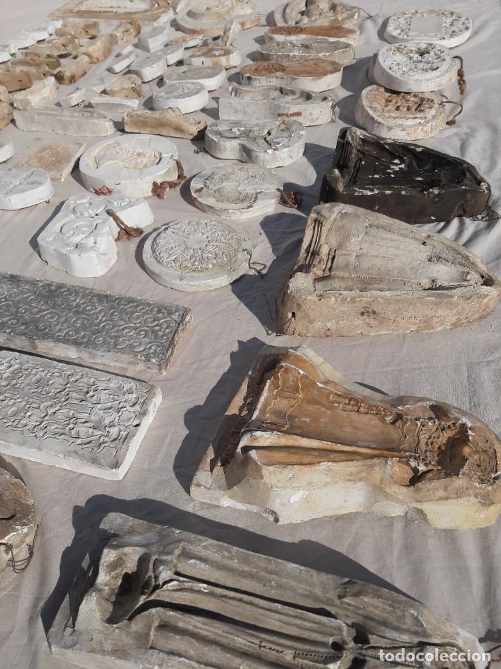 Antigüedades: Moldes escayola. Para orfebrería. Semana santa. Iglesia. Santo. Virgen - Foto 20 - 229123225