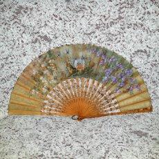 Antiguidades: BELLÍSIMO ABANICO 1870-1890S. Lote 229130568