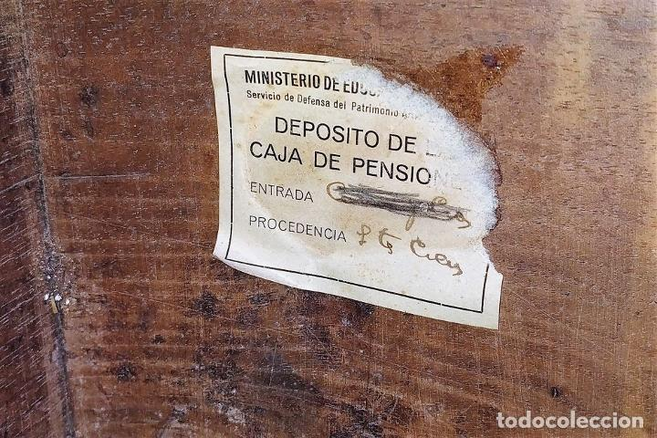 Antigüedades: ARCA DE NOVIO. NOGAL.INCRUSTACIONES DE BOJ. MONASTERIO DE SANTES CREUS(?). ESPAÑA. XVII-XVIII - Foto 28 - 229185480