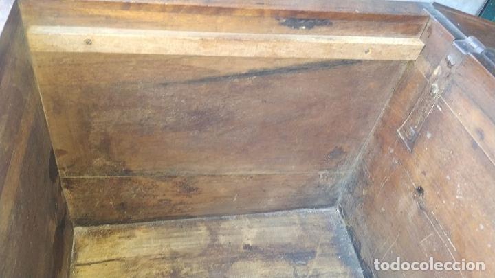 Antigüedades: ARCA DE NOVIO. NOGAL.INCRUSTACIONES DE BOJ. MONASTERIO DE SANTES CREUS(?). ESPAÑA. XVII-XVIII - Foto 34 - 229185480