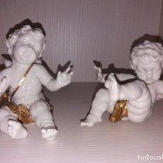 Oggetti Antichi: PAREJA DE ÁNGELES DE ALGORA. Lote 229208715