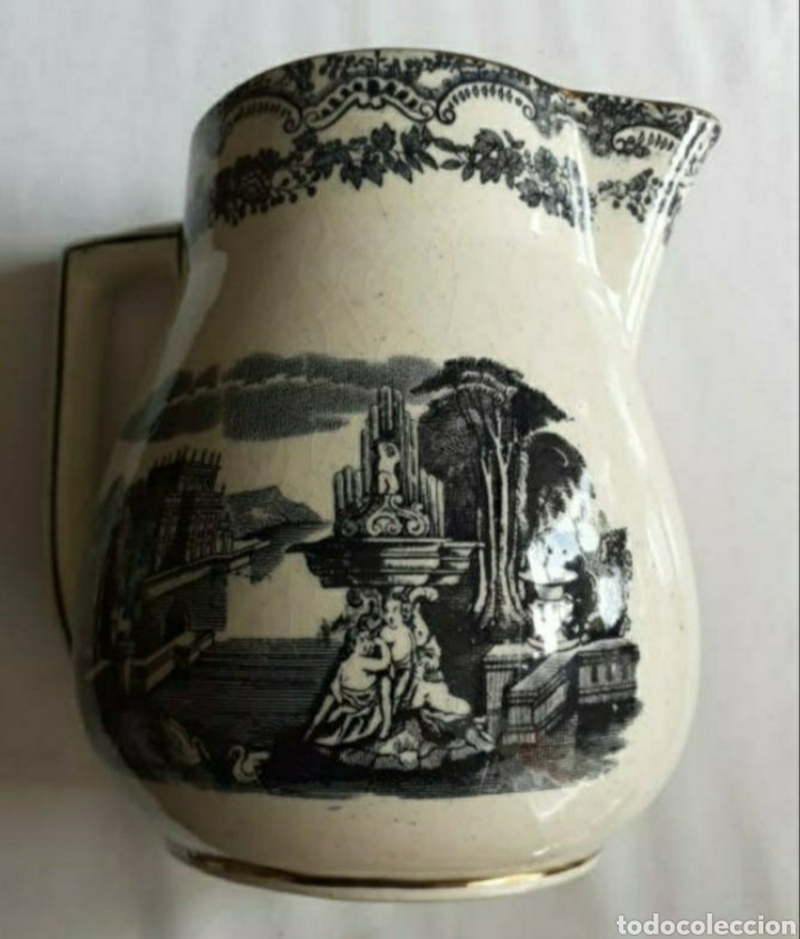 JARRA DE PORCELANA (Antigüedades - Porcelanas y Cerámicas - La Cartuja Pickman)