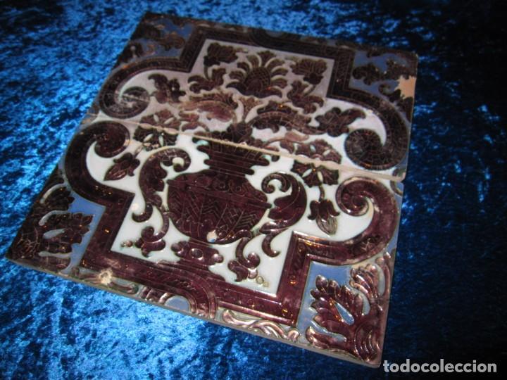 Antigüedades: Azulejos Ramos Rejano circa 1930 - Foto 13 - 174959505