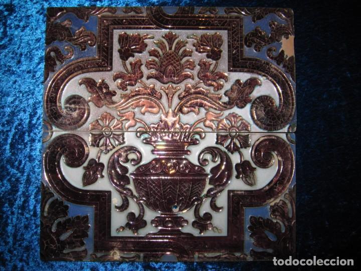 AZULEJOS RAMOS REJANO CIRCA 1930 (Antigüedades - Porcelanas y Cerámicas - Azulejos)