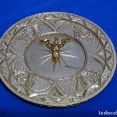 Antigüedades: PLATO DE BRONCE LIMOSNERO O PERITORIO.. Lote 229259020