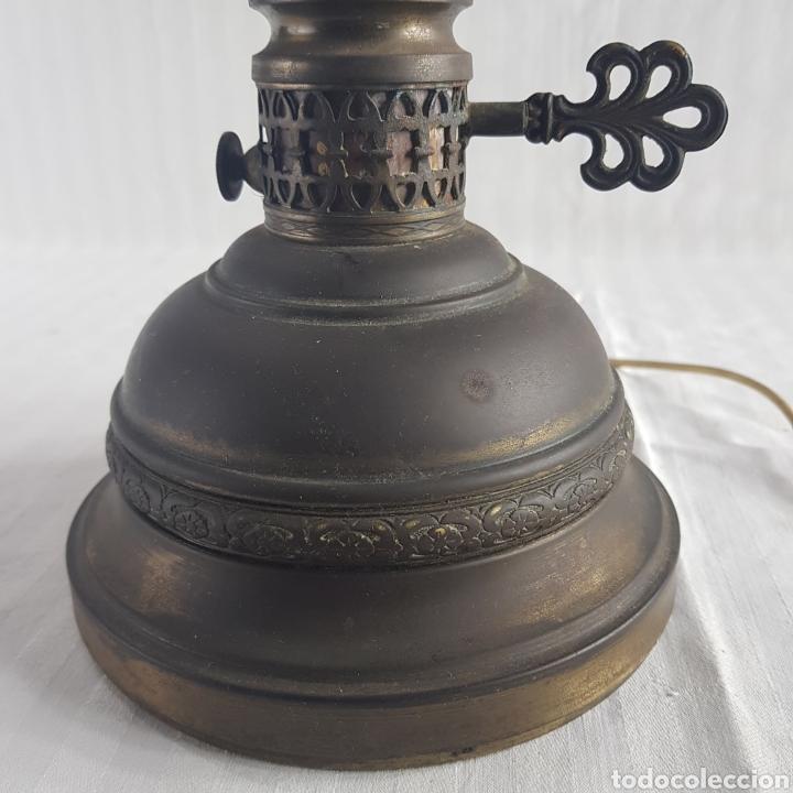 Antigüedades: Lampara Quinque de mediados S.XX - Foto 3 - 229290635