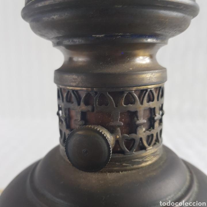 Antigüedades: Lampara Quinque de mediados S.XX - Foto 8 - 229290635