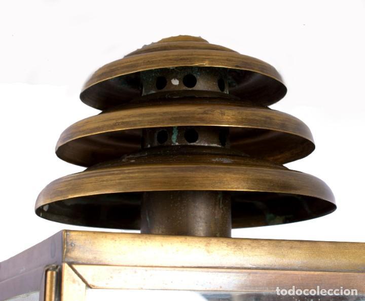 Antigüedades: Farol de carro francés - Foto 3 - 229344155