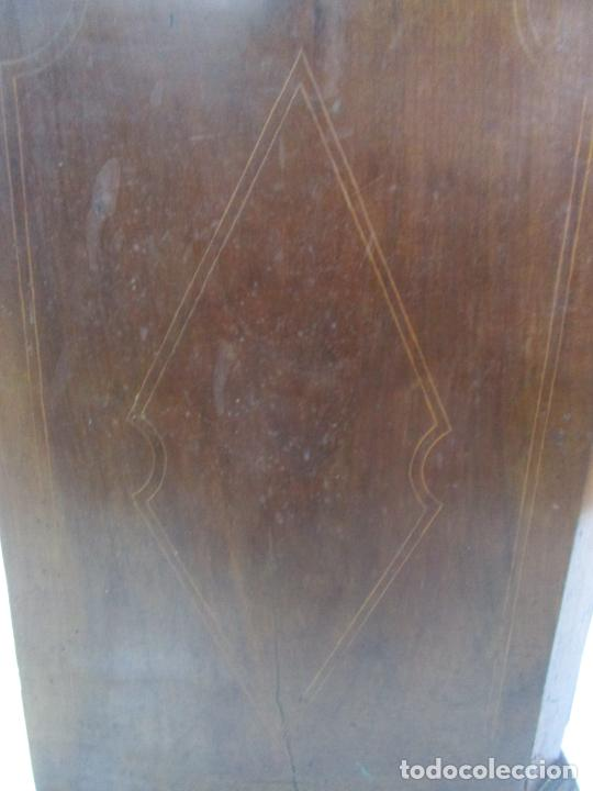 Antigüedades: Cómoda Catalana - Madera de Nogal y Marquetería - Tiradores de Bronce Originales - S. XVIII - Foto 41 - 229370360