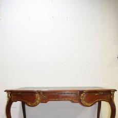 Antiquités: MESA ESCRITORIO LUIS XV BRONCES. Lote 229394765