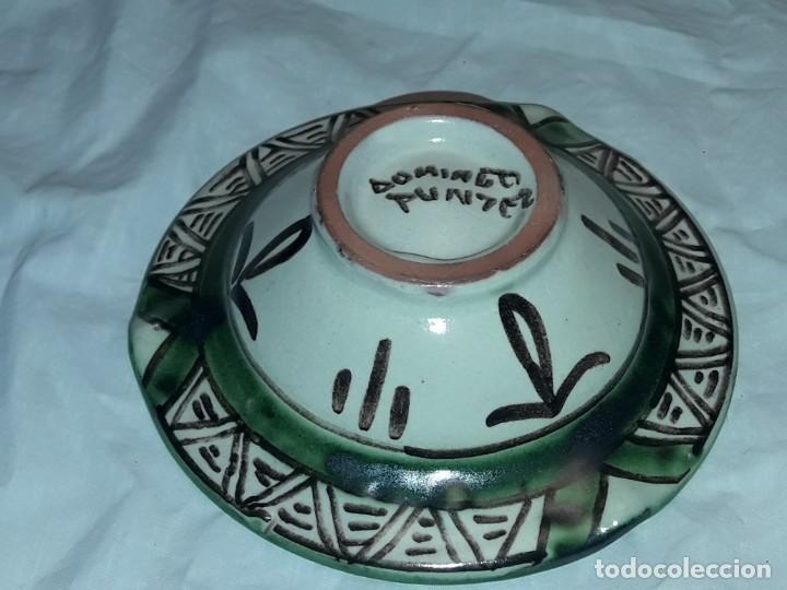 Antigüedades: Bello cenicero cerámica Domingo Punter Teruel Federación Aragonesa de Futbol año 1981 - Foto 5 - 229406640