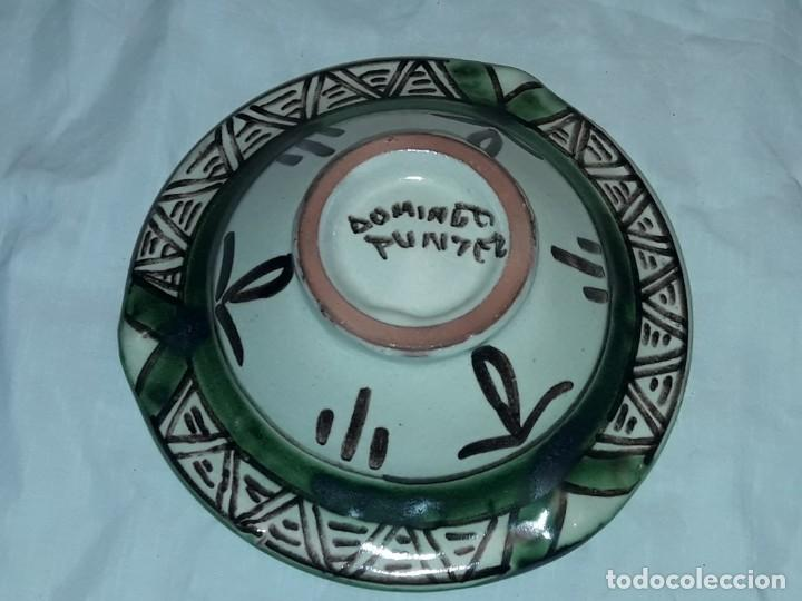 Antigüedades: Bello cenicero cerámica Domingo Punter Teruel Federación Aragonesa de Futbol año 1981 - Foto 6 - 229406640