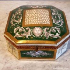Antigüedades: CAJA JOYERO DE PORCELANA. Lote 229474620