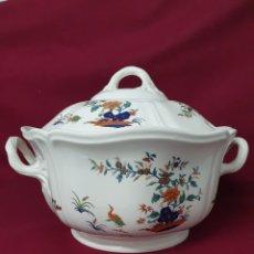 Antigüedades: ESPECTACULAR VAJILLA DE WEGDWOOD CHINESE TEAL. 12 SERVICIOS. 106 PIEZAS.. Lote 229477950