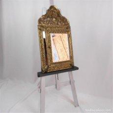 Antigüedades: GABINETE ESPEJO SIGLO XX CON ESPEJO EXTERIOR. Lote 229531060