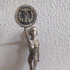 Antigüedades: FIGURA ART-DECO NAVEGACIÓN CÁMARA DE COMERCIO. Lote 229537060