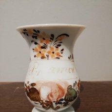 Antigüedades: JARRA DE OPALINA DE LA GRANJA S. XIX. Lote 229592185