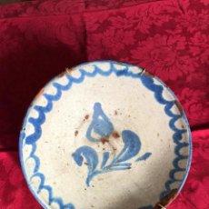 Antiquités: PLATO FAJALAUZA PEQUEÑO LAÑADO CULO DE MONO. Lote 229603780