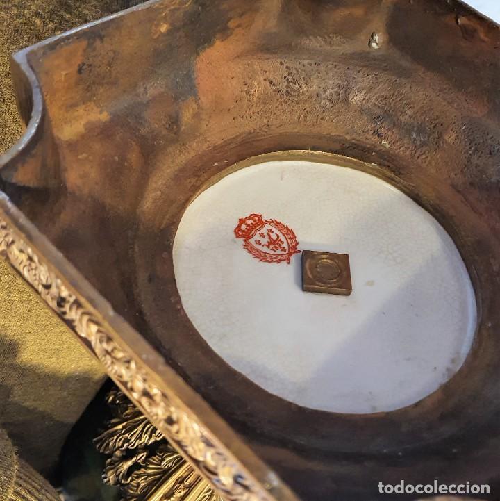 Antigüedades: GRAN MACETERO DE PORCELANA CON SELLO - Foto 10 - 229639390