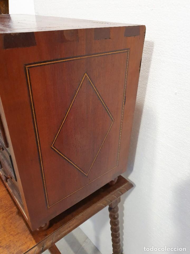 Antigüedades: ANTIGUO BARGUEÑO CON MESA - Foto 7 - 229640975