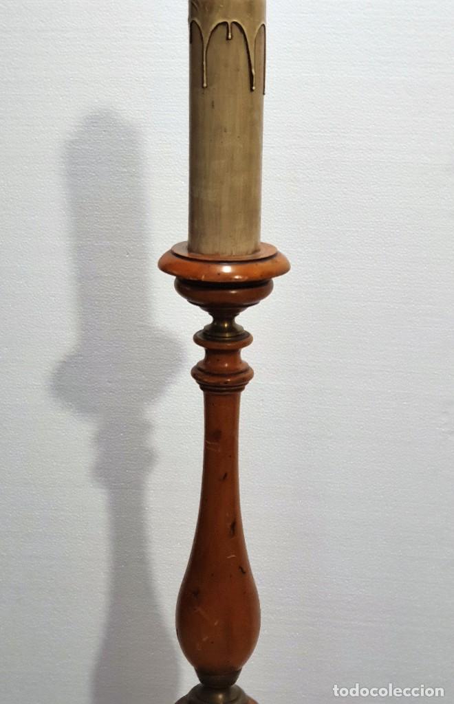 Antigüedades: LAMPARA DE PIE - Foto 4 - 229646065