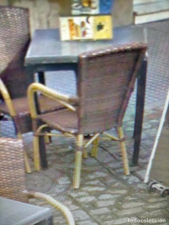 Antigüedades: SOLO RECOGIDA CADIZ CAPITAL CENTRO 24 sillas y 6 mesas de terraza BAR RESTAURANTE - Foto 12 - 229701075