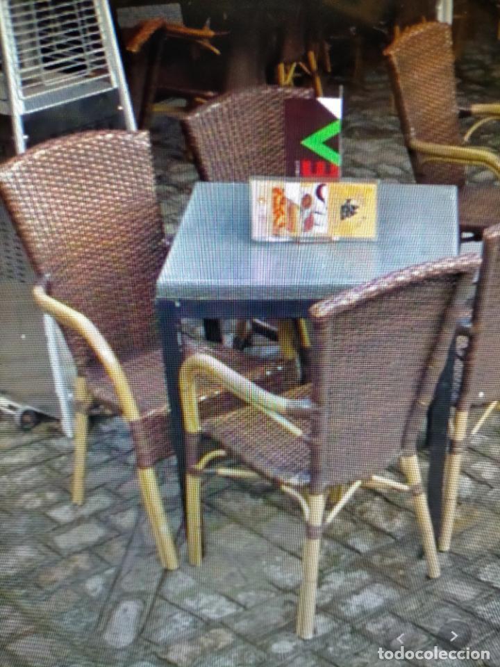 Antigüedades: SOLO RECOGIDA CADIZ CAPITAL CENTRO 24 sillas y 6 mesas de terraza BAR RESTAURANTE - Foto 19 - 229701075