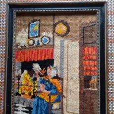 Antigüedades: CUADRO PUNTO. Lote 229845695