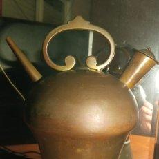 Antigüedades: BOTIJO EN BRONCE SIGLO XIX. Lote 229879175