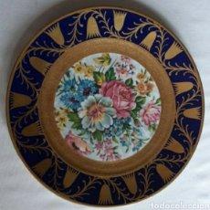 Antigüedades: PLATO DE PORCELANA HOLANDESA. Lote 229889150