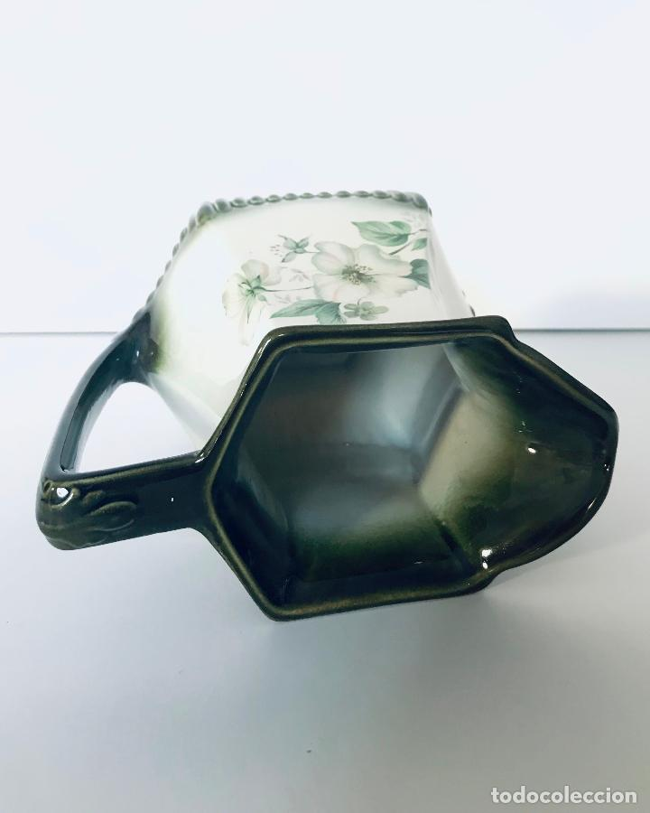 Antigüedades: Antiguo jarrón inglés de porcelana. Años 30/40 - Foto 3 - 229898310