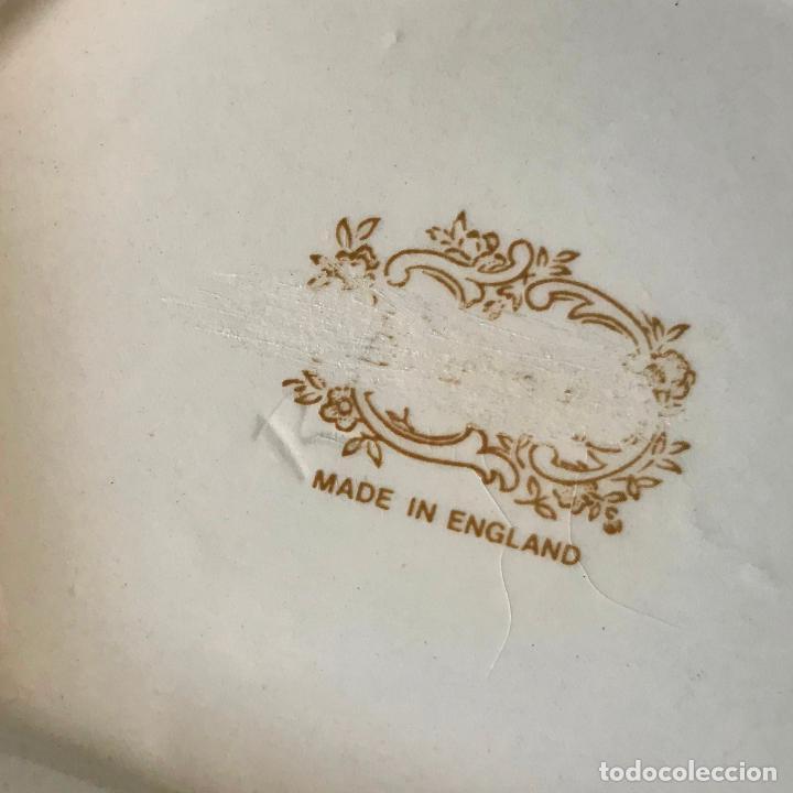 Antigüedades: Antiguo jarrón inglés de porcelana. Años 30/40 - Foto 4 - 229898310